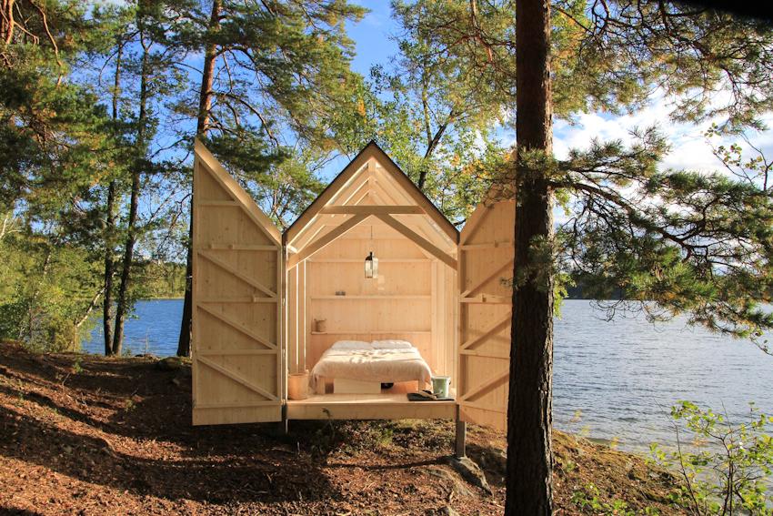 14 phòng ngủ cực chất, đem đến không gian thiên nhiên xanh mát trong mùa hè