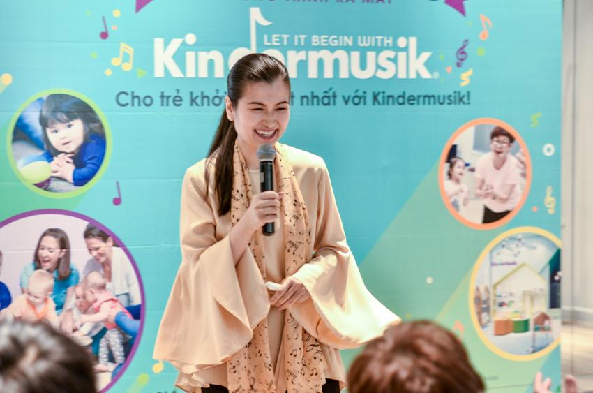 Kindermusik - chương trình giáo dục âm nhạc dành cho trẻ nhỏ đầu tiên tại Việt Nam chính thức ra mắt