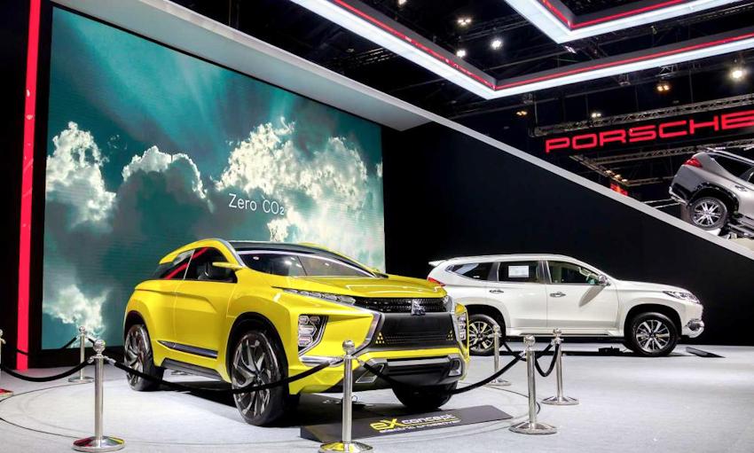 eX concept - thế hệ xe tương lai mới, hiệu năng cao của Mitsubishi