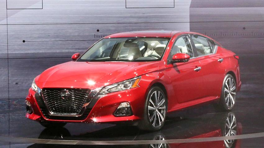 Nissan ra mắt Altima 2019 thế hệ mới tại triển lãm NYAS 2018