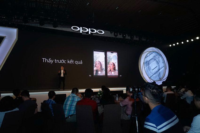 Oppo F7 - chuyên gia selfie với camera trước lên đến 25MP, tích hợp AI mọi tính năng