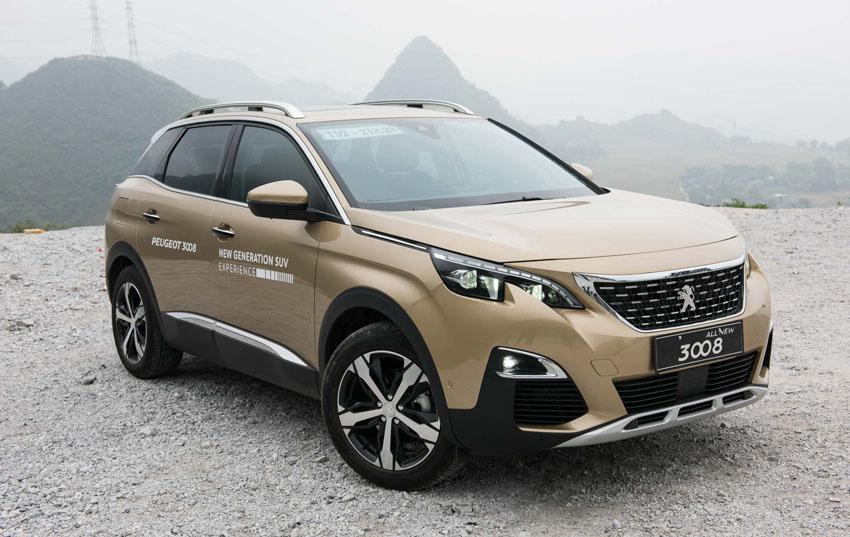 Peugeot Việt Nam bán hơn 1.500 xe 3008 và 5008 trong ba tháng đầu năm
