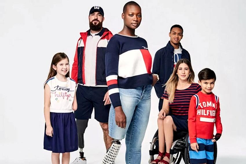 Tommy Hilfiger cải tiến dòng thời trang Spring Adaptive dành cho người khuyết tật