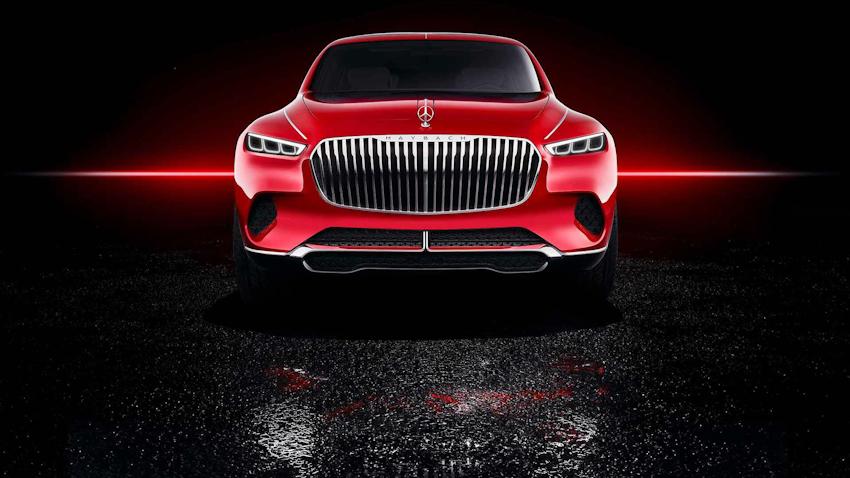 Vision Mercedes-Maybach Ultimate Luxury concept: Mẫu SUV siêu sang