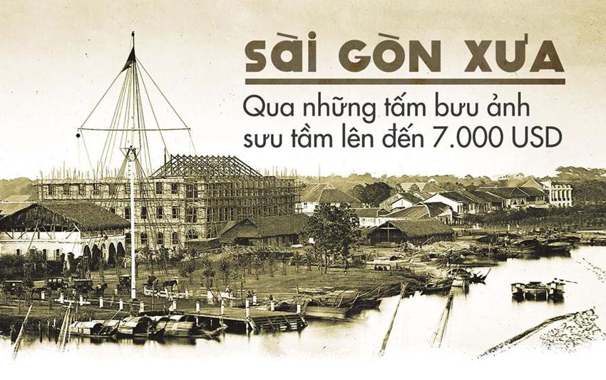 Sài Gòn xưa qua những tấm bưu ảnh sưu tầm lên đến 7.000 USD