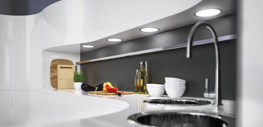 12 thiết kế sáng tạo kết hợp đèn LED chiếu sáng siêu sang