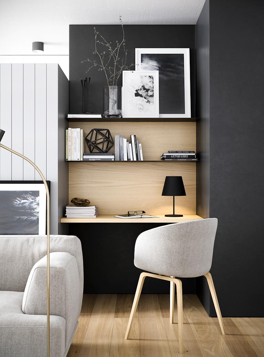 50 ý tưởng thiết kế phòng làm việc tại nhà hiện đại, phong cách và truyền cảm hứng