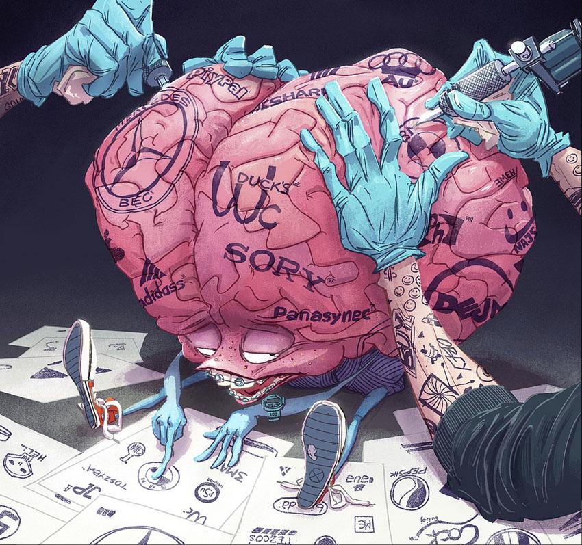 Chùm tranh biếm họa: Mối đe dọa âm thầm gặm nhấm cuộc sống