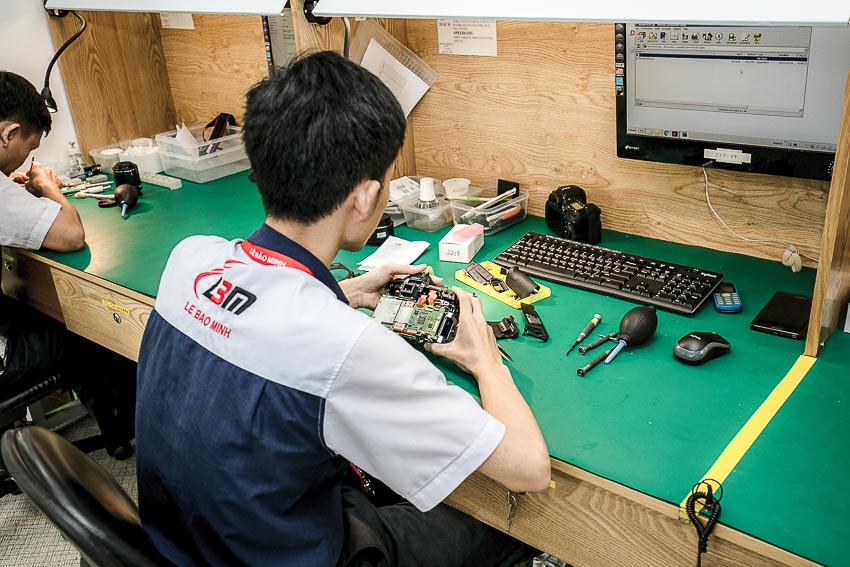 Trung tâm Sửa chữa và Bảo hành sản phẩm Canon chính hãng chuẩn quốc tế