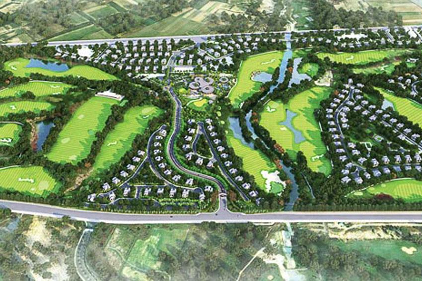 Ong & Ong Landscape studio vừa hoàn thành thiết kế landscape cho dự án Harmonie Golf Park