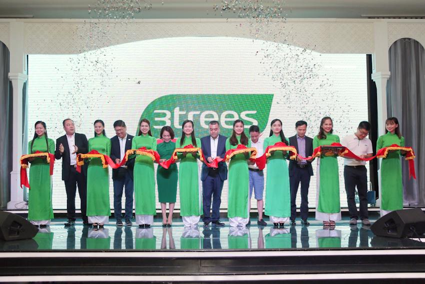 Thương hiệu sơn 3trees ra mắt tại thị trường Việt Nam