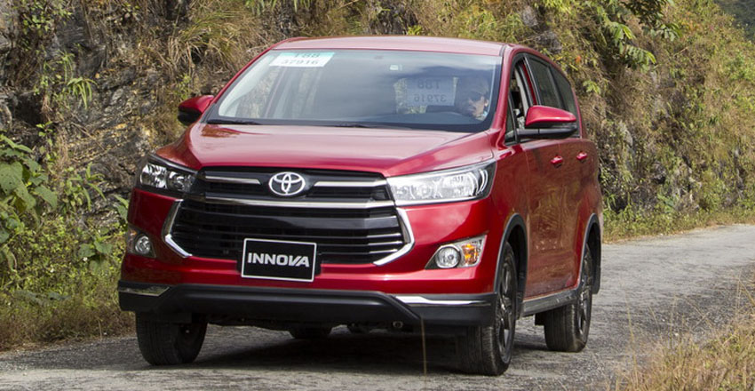 Doanh số các mẫu xe lắp ráp trong tháng 4 của Toyota Việt Nam tăng 70%