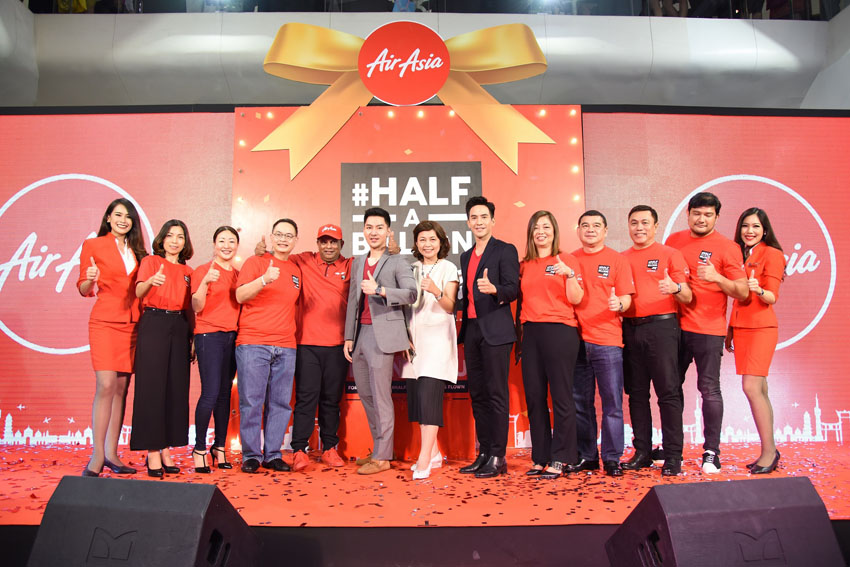 AirAsia đạt cột mốc 500 triệu hành khách