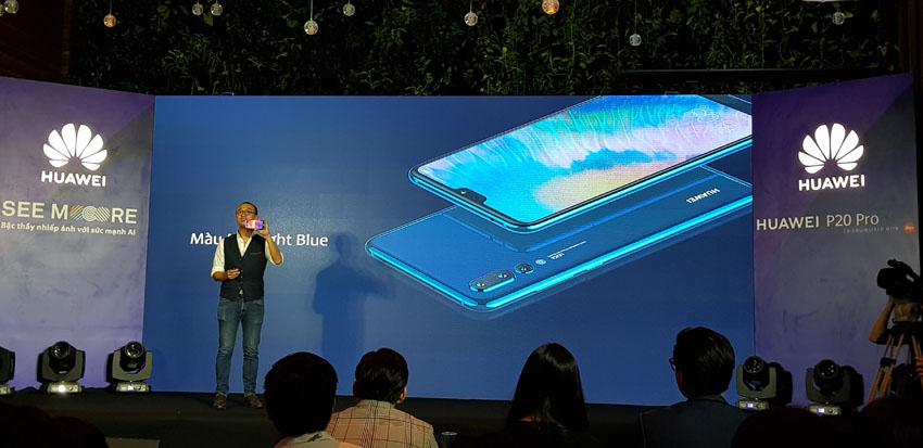 Huawei ra mắt smartphone P20 Pro 3 camera Leica tại Việt Nam
