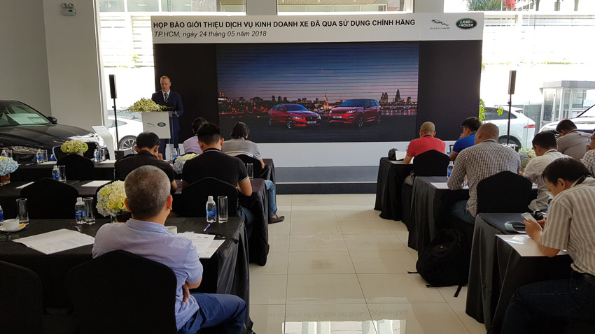 Jaguar Land Rover Việt Nam ra mắt dịch vụ kinh doanh xe chính hãng đã qua sử dụng