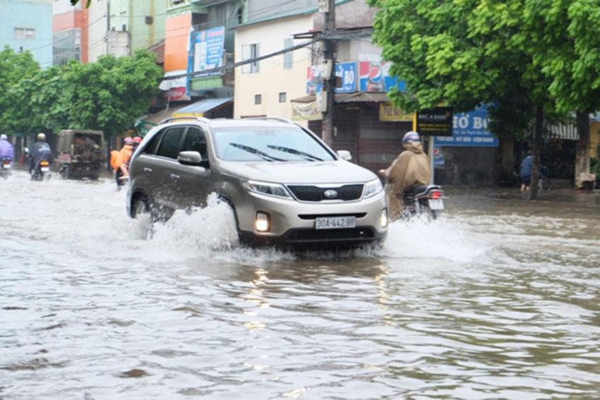 Ô Tô Bà Rịa - Kỹ năng lái xe khi trời mưa