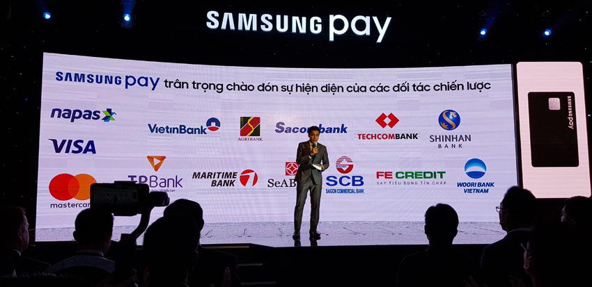 Samsung Pay mở rộng hệ thống ngân hàng hợp tác tại Việt Nam