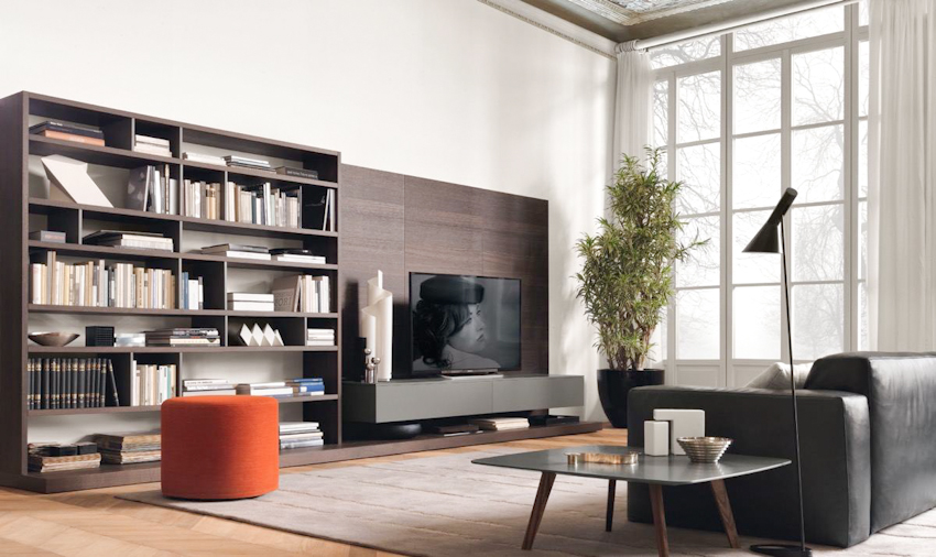 37 thiết kế kệ tivi biến không gian nhà bạn trở nên sang trọng, hiện đại