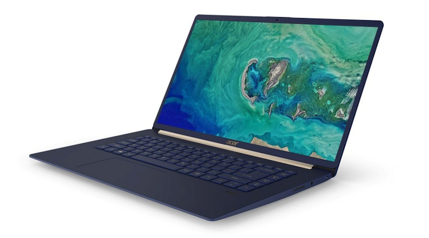 Acer Swift 5 mới: màn hình 15,6 inch Full HD, lựa chọn tốt cho doanh nhân