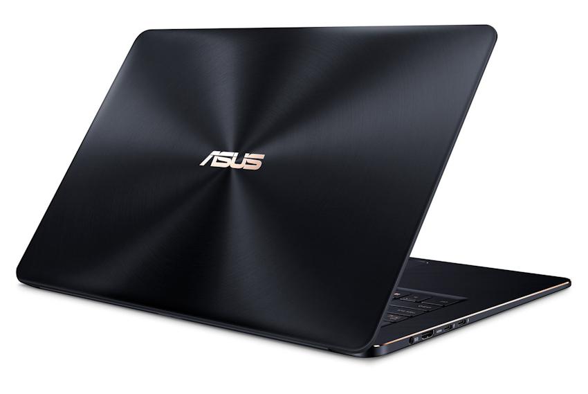 Asus ZenBook Pro 15: Core i9 6 nhân, màn 4K, siêu mỏng nhẹ
