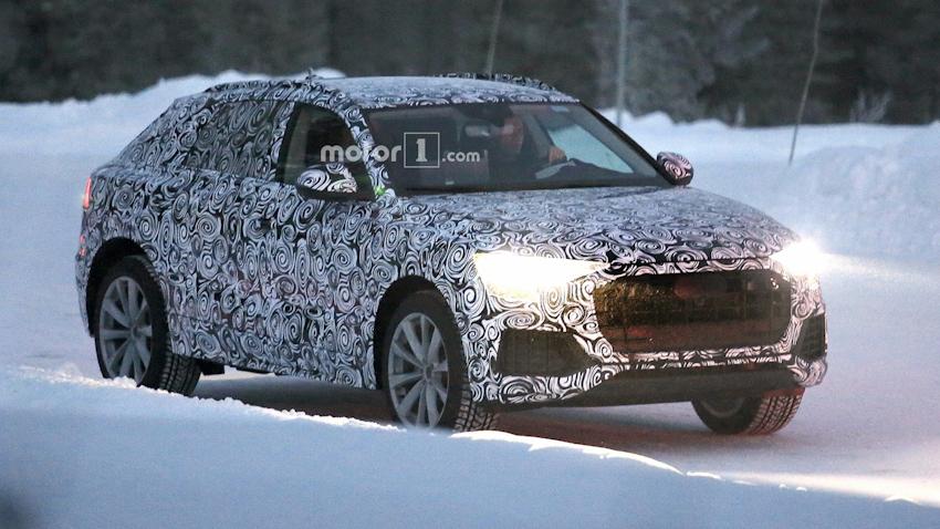 Audi Q8 chính thức lộ diện thiết kế đuôi xe, dự kiến ra mắt vào tháng 6