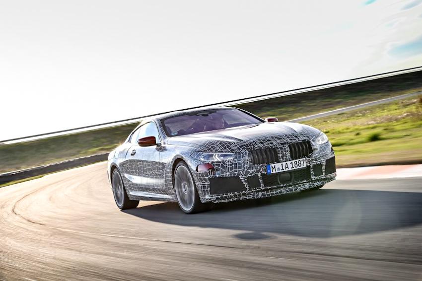 BMW 8 Series sẽ chính thức ra mắt vào ngày 15-6 tại giải đua 24h of Le Mans
