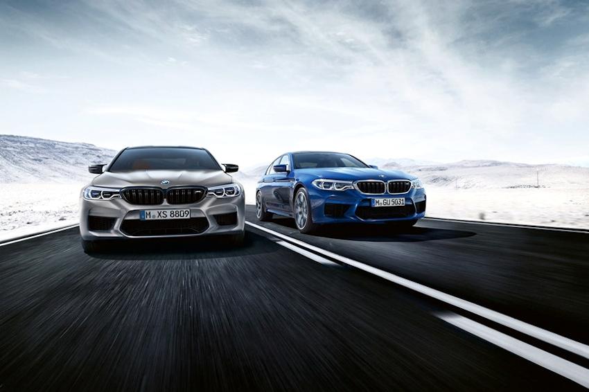 Chính thức ra mắt siêu sedan BMW M5 Competition 2018