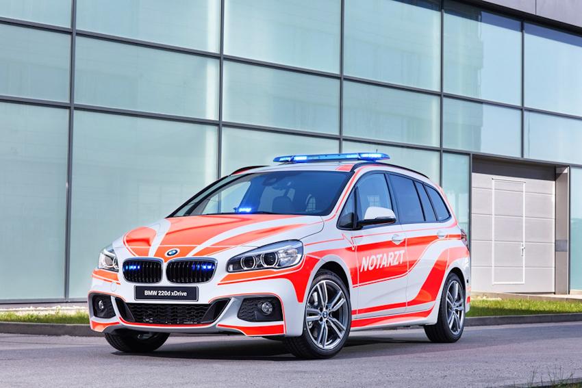 BMW tung 6 mẫu xe ưu tiên cho lực lượng cảnh sát, cứu hộ, cứu hỏa, cứu thương
