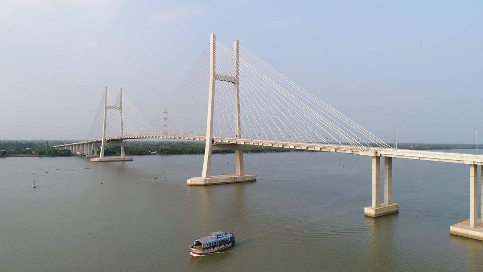 Khánh thành cầu 7.500 tỉ rút ngắn khoảng cách từ TP.HCM tới các tỉnh miền Tây
