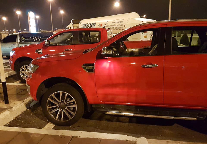 Ford Everest Facelift 2018 đã xuất hiện tại Thái và sắp về Việt Nam