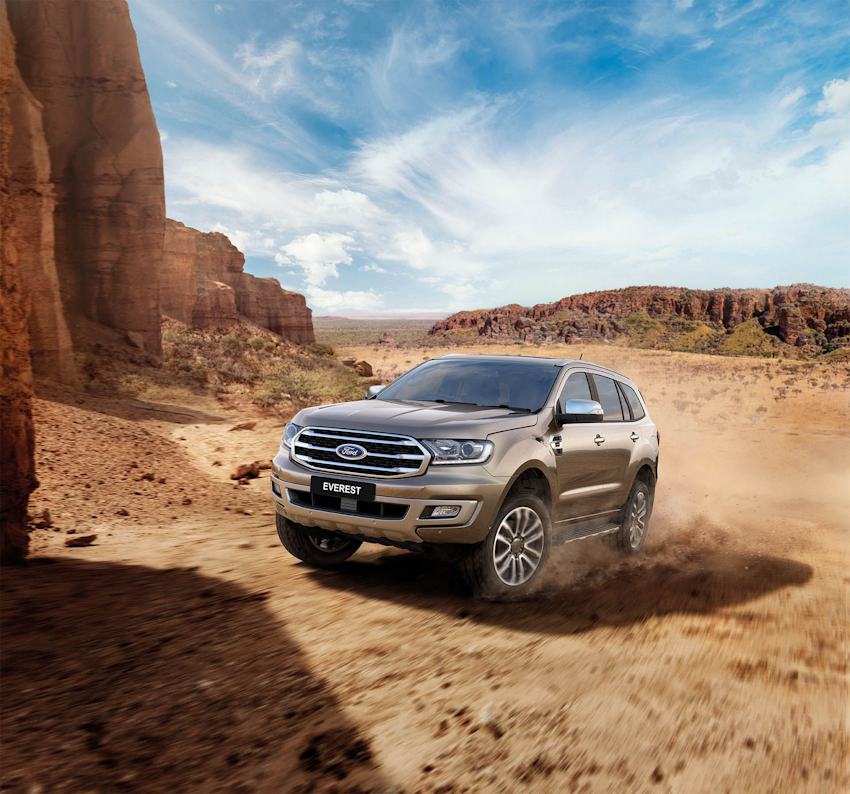 Ford nâng cấp động cơ 2.0 tăng áp kép, hộp số tự động 10 cấp cho Everest