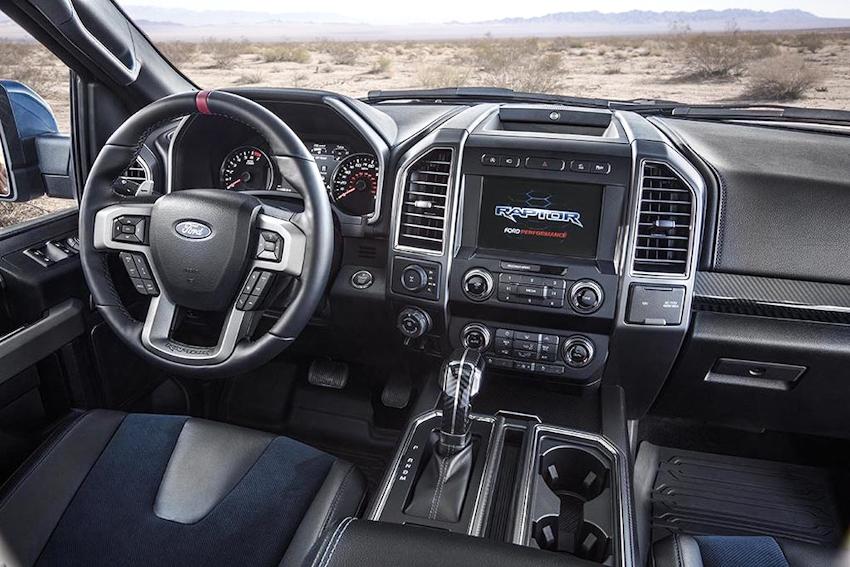 Ford công bố bản nâng cấp hiệu năng cao F-150 Raptor 2019