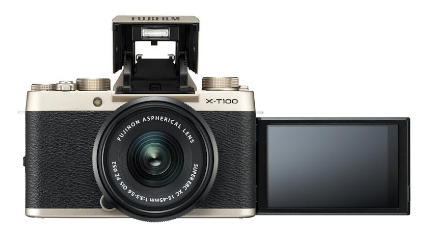 Fujifilm X-T100 chính thức ra mắt, màn hình xoay lật, cảm biến 24.2MP