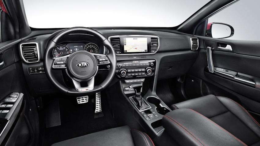 Kia Sportage 2019 chính thức lộ diện với thiết kế mới, động cơ dầu 2.0 Mild Hybrid
