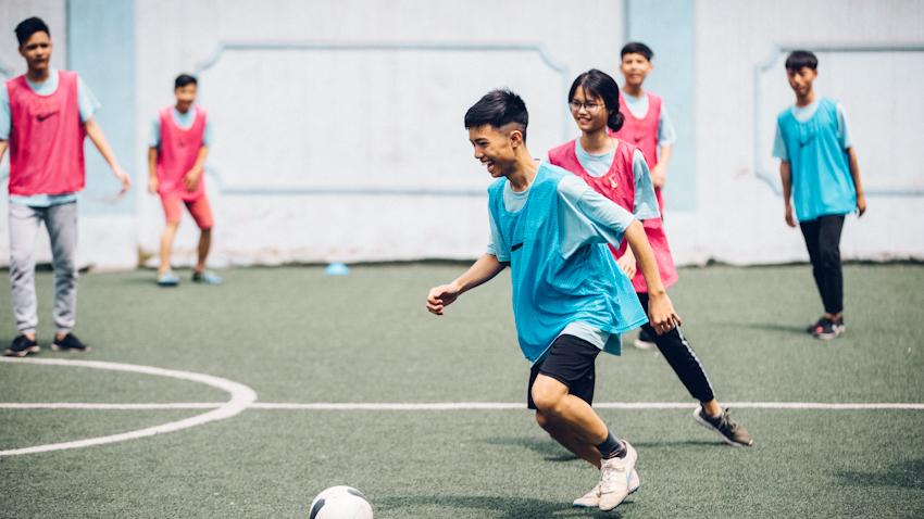 Manchester City tổ chức chương trình đào tạo bóng đá cộng đồng dành cho các nhà lãnh đạo trẻ tại VN