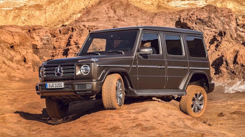 Mercedes-Benz giới thiệu G-Class G 350d 4Matic thế hệ mới, phiên bản máy dầu