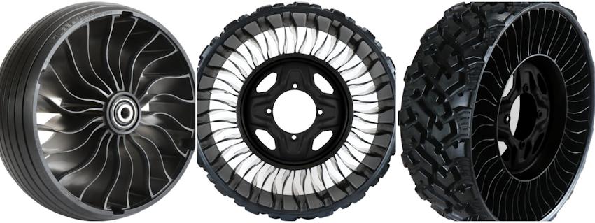 Michelin chính thức ra mắt X Tweel, lốp không hơi cho xe đa dụng UTV, giá từ 750 USD