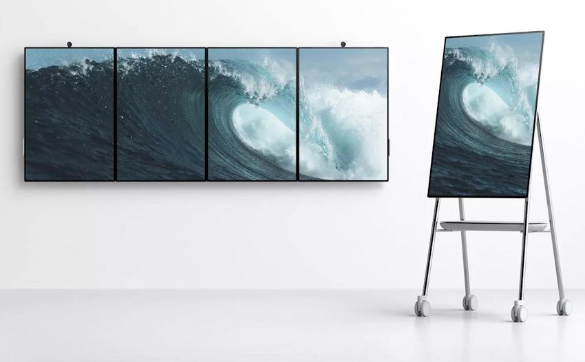 """Microsoft Surface Hub 2: tablet màn hình 50,5"""" viền mỏng dành cho doanh nghiệp"""