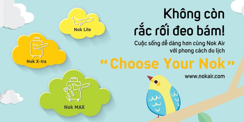 Bay đến Thái Lan, ở khách sạn đẹp nhờ dịch vụ Nok Holidays
