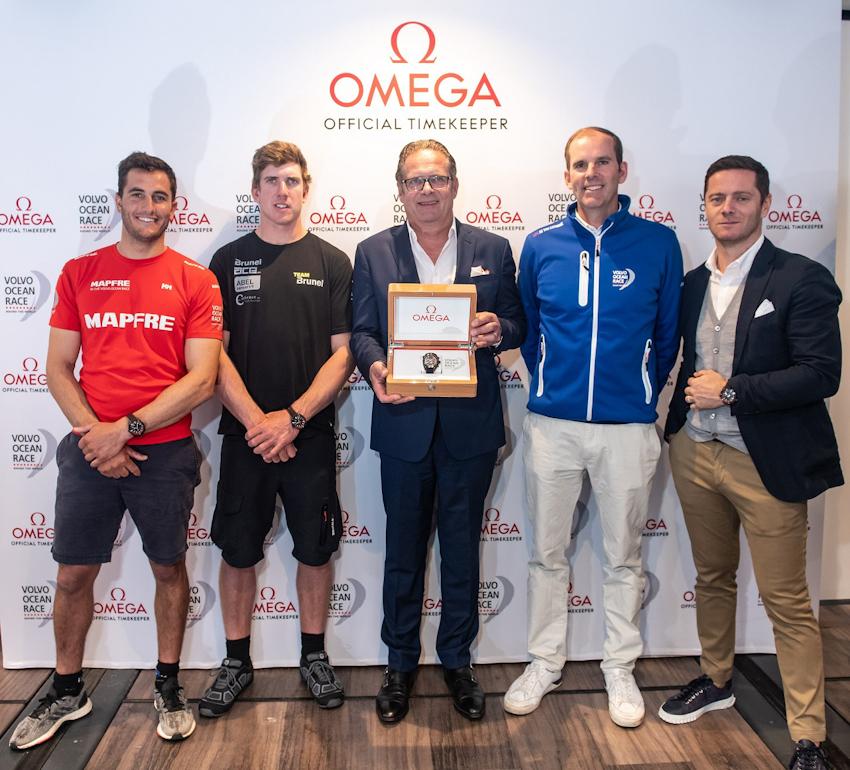 Omega ra mắt đồng hồ mới cho cuộc đua Volvo Ocean Race