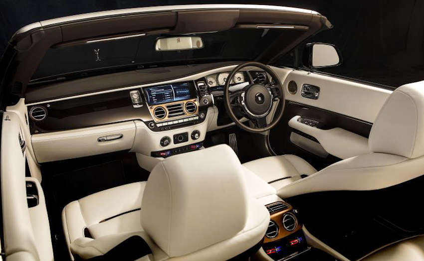 Rolls-Royce mang cảm hứng âm nhạc vào mui trần siêu sang Dawn Inspired by Music