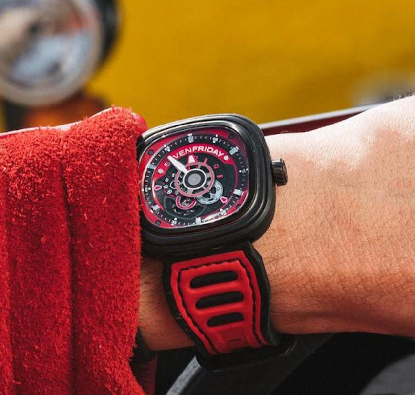 SevenFriday ra mắt bộ đôi đồng hồ P3B Racing, cảm hứng sáng tạo từ xe đua