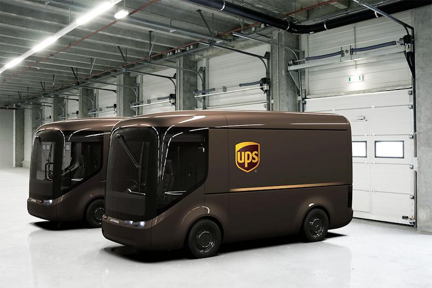 UPS hợp tác với ARRIVAL sản xuất xe tải chạy điện vận chuyển hàng hoá tại đô thị