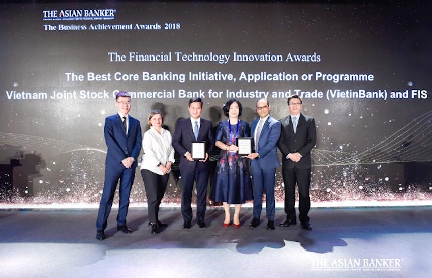 VietinBank nhận cú đúp giải thưởng uy tín từ The Asian Banker