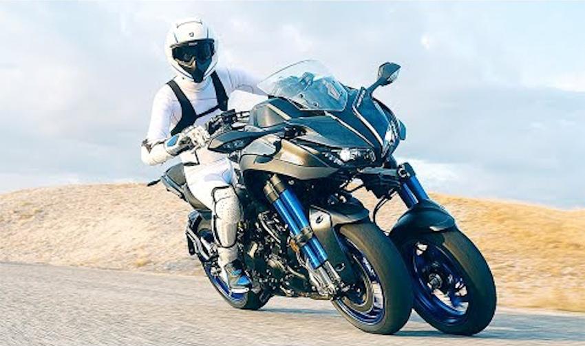 Yamaha Niken 2018, môtô ba bánh thách thức mọi góc cua, giá 415 triệu