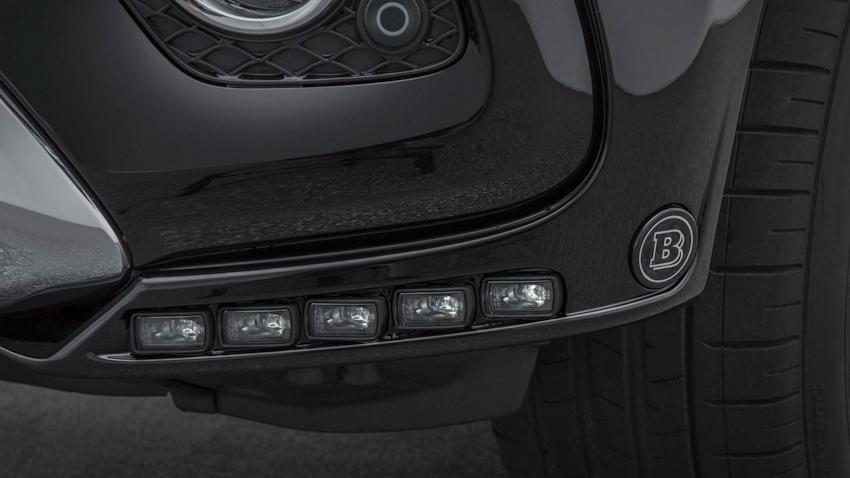 Bản độ bán tải Mercedes-Benz X250d công suất 211 mã lực từ nhà Brabus