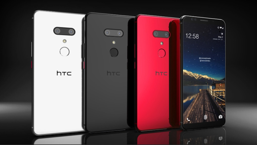 HTC U12 plus chính thức ra mắt: 4 camera, camera kép, màn hình tràn viền