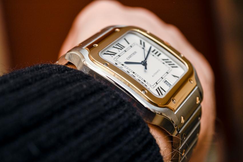 Cartier Santos de Cartier, chất thể thao không kém phần thanh lịch