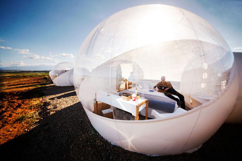 """Khám phá những khách sạn """"bong bóng"""" chất nhất thế giới"""