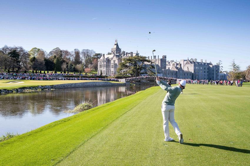 4 ngôi sao golf tụ hội khai trương sân The Golf Course at Adare Manor - Ireland